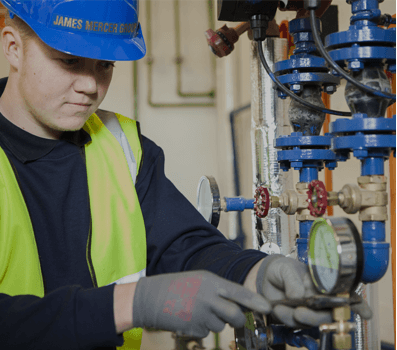 James Mercer Group LTD employee working maintenance, building maintenance preston
